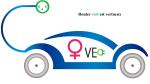 femme roule voiture electrique