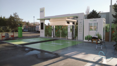 Chargeur VE Greenspot bordeaux 2017