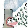 Nucléair cher pollution argent