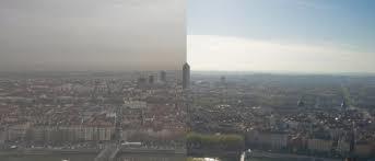 Particules fines lyon pollution air limite notre champs visuel vite ActiVE