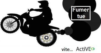 Pollution air moto fumer tue vite active