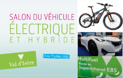 Salon du VE et Hybride Val Izere 2016