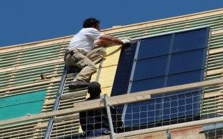 panneaux-solaire-obligatoir sur toit neuf San Francisco