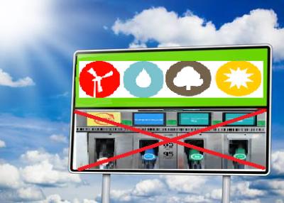 Station ENR pas petrole