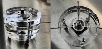 Testaufbau-fuer-die-Siliziumbatterie silicon air batterie