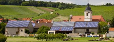 Toit vilage vert solaire