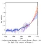 doc IPCC niveau de la mer en hausse active