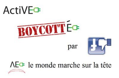 facebook boycotte ActiVE mecenat energie EnR