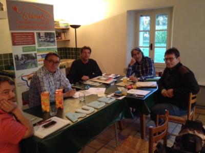reunion president association vehicule electrique