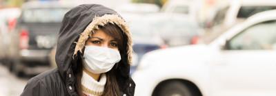 Smog - pollution d'air