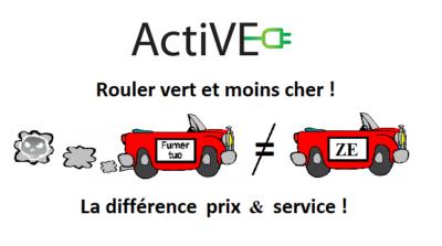 voiture thermique electrique difference prix service active
